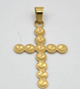 Pandantiv cruce din Aur dama Myla