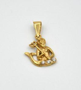 Pandantiv zodie din Aur Varsator
