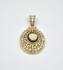 Pandantiv din Aur Versace