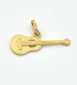 Pandantiv din Aur Guitar